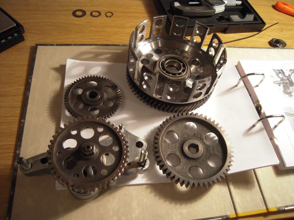 Motorteile Ducati Pantah Motor