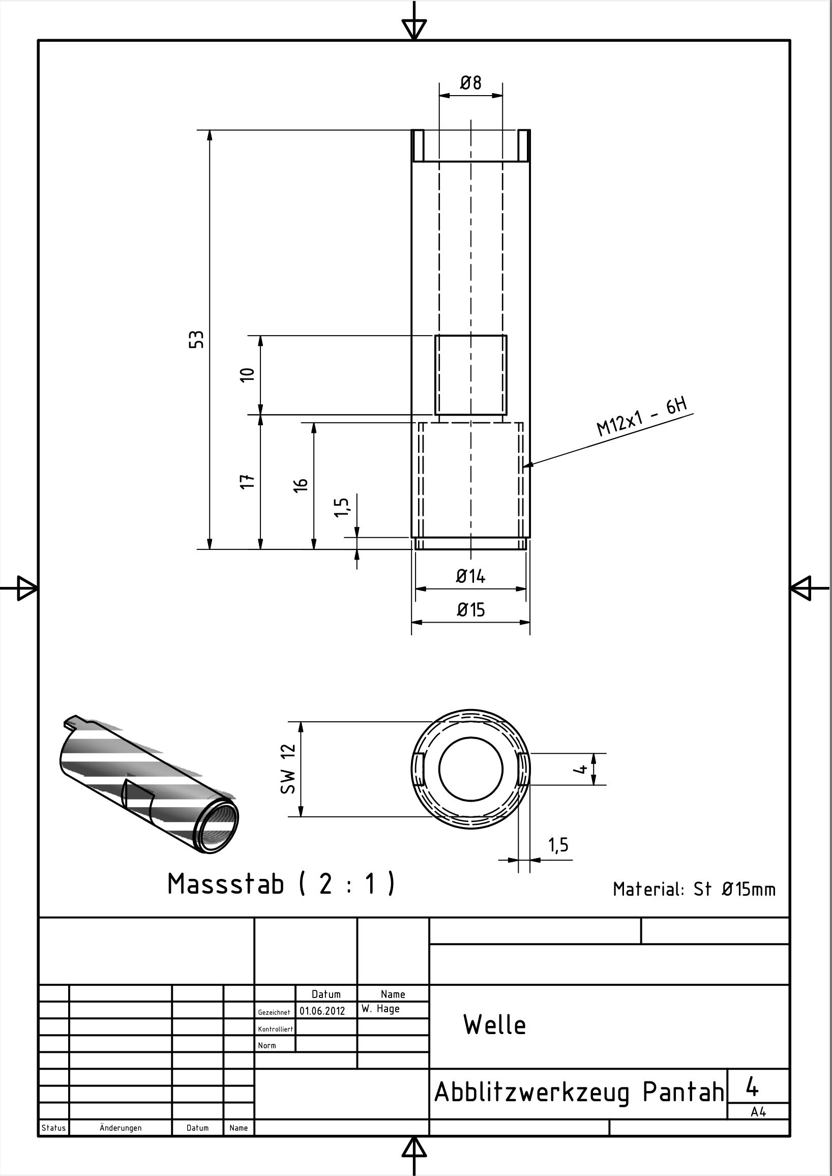 Abblitzwerkzeug Pantah 4