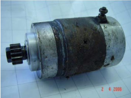 Reparatur eines Ducati-Pantah Anlassers 2