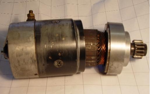 Reparatur eines Ducati-Pantah Anlassers 3