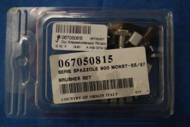 Reparatur eines Ducati-Pantah Anlassers 9