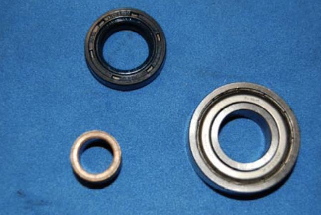 Reparatur eines Ducati-Pantah Anlassers 10